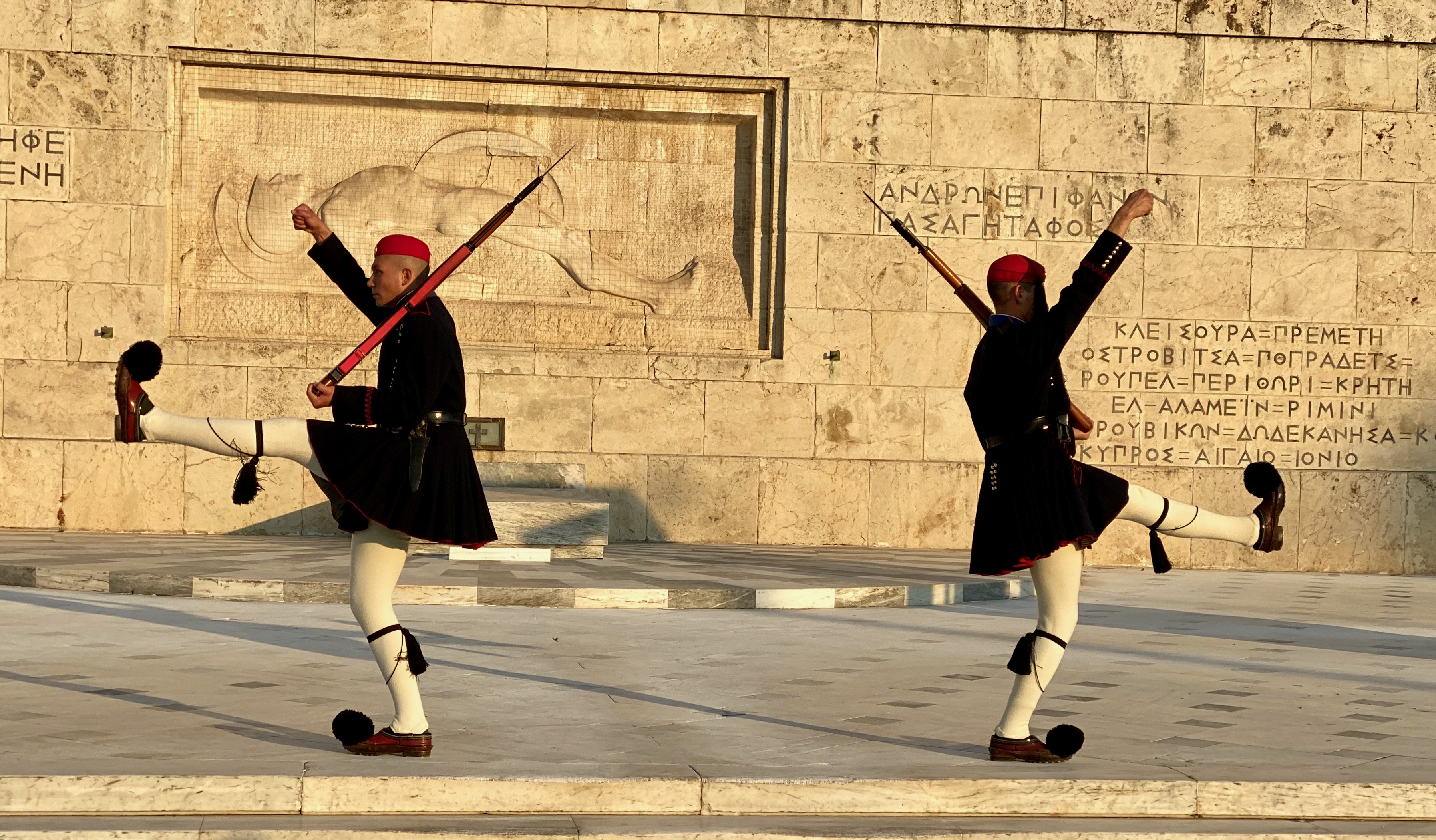 Honor Guard at the Tomb of the Unknown Soldier, Athens